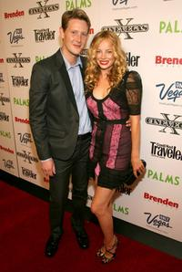 Gabriel Mann and Bijou Phillips at the screening of