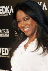 Kenya Moore at the Vanity Fair 2006 Svedka Erotica Reading Series.