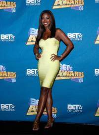 Kenya Moore at the 2008 BET Awards.