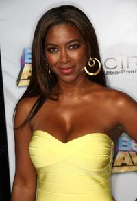 Kenya Moore at the 2008 BET Awards after party.