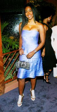 Kenya Moore at the Ebony Magazine Oscar Party