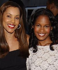 Sandra Prosper and Robinne Lee at the premiere of