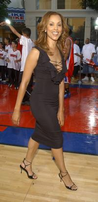Sandra Prosper at the premiere of