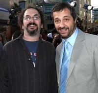 Robert Smigel and Jud Apatow at the premiere of