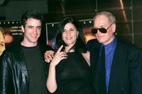 Linda Fiorentino, Dermot Mulroney and Paul Newman at the screening of