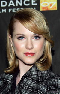Evan Rachel Wood at the Sundance premiere of