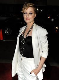 Evan Rachel Wood at the California premiere of