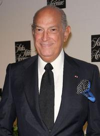 Oscar de la Renta at the unveiling celebration for the new third floor at Saks Fifth Avenue.