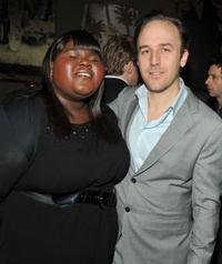 Gabourey Sidibe and Derek Cianfrance at the screening of