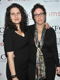 Tamara Jenkins and Lisa Cholodenko at the 2010 New York Film Critics Circle Awards.