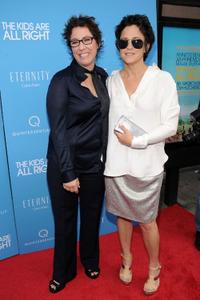 Lisa Cholodenko and Wendy Melvoin at the premiere of the