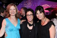 Dawn Hudson, Lisa Cholodenko and Rebecca Yeldham at the after party of the premiere of