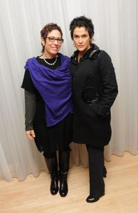Lisa Cholodenko and Wendy Melvoin at the after party of