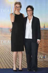 Annette Bening and Lisa Cholodenko at the photocall of