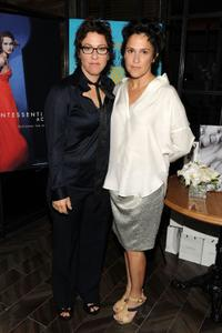 Lisa Cholodenko and Wendy Melvoin at the after party of the premiere of