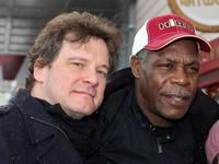 Colin Firth and Danny Glover at the 2008 Sundance Film Festival.