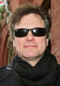 Colin Firth at the 2008 Sundance Film Festival.