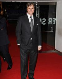 Colin Firth at the London premiere of