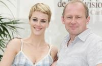 Peter Firth and Miranda Raison attends a photocall promoting the television serie