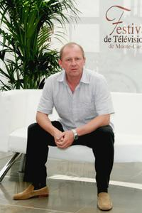 Peter Firth attends a photocall promoting the television serie