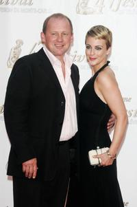 Peter Firth and Miranda Raison at the opening night of the 2007 Monte Carlo Television Festival.