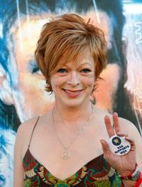 Frances Fisher at the Jules Verne Adventure Film Festival Special Awards Presentation.