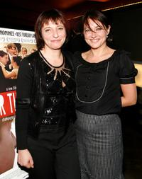 Director Susanne Bier and Sidse Babett Knudsen at the premiere of