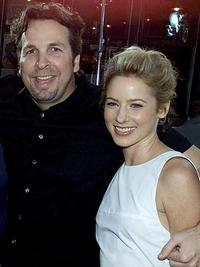 Peter Farrelly and Traylor Howard at the premiere of