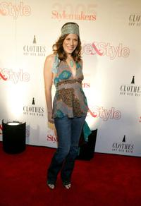 Tricia Leigh Fisher at the Life and Style Magazines Stylemakers 2005 a runway show and charity auction.