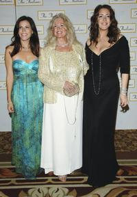Tricia Leigh Fisher, Connie Stevens and Joely Fisher at the 51st Annual Thalians Ball.