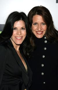Tricia Leigh Fisher and Joely Fisher at the opening night of