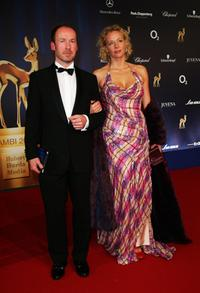 Ulrich Noethen and Katja Riemann at the Annual Bambi Awards 2007.