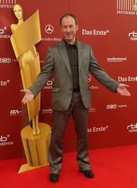 Ulrich Noethen at the reception for the nominees of Deutscher Filmpreis.