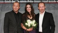 Heino Ferch, Bettina Zimmermann and Ulrich Noethen at the screening of