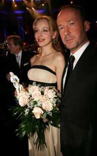 Petra Schmidt-Schaller and Ulrich Noethen at the Bavarian Film Awards.