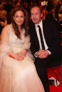 Marie-Luise Schmidt and Ulrich Noethen at the German Film Award 2008.