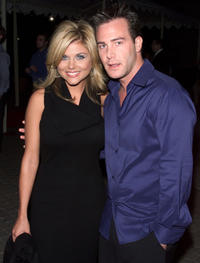 Tiffani Thiessen and Richard R. Ruccolo at the California premiere of