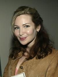 Jennifer Westfeldt at the Distinctive Assets Talent Lounge And Spa For the 2004 Tony Awards.