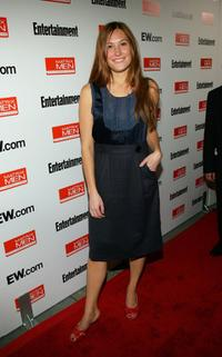 Schuyler Fisk at the Toronto International Film Festival Entertainment Weekly party.
