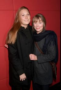 Schuyler Fisk and Sissy Spacek at the party for the premiere of