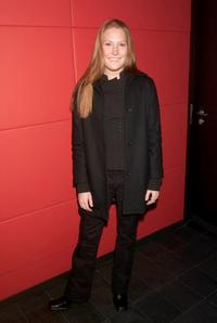 Schuyler Fisk at the party for the premiere of