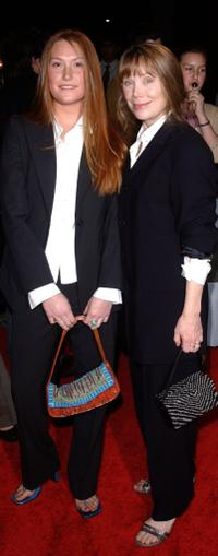 Schuyler Fisk and her mother Sissy Spacek at the premiere of the