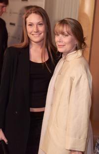 Schuyler Fisk and Sissy Spacek at Miramax Films' pre-oscar party.