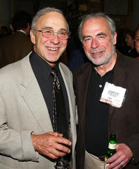 Philip Caputo and Richard Russo at the cocktail reception with authors from The Knopf Doubleday Publishing Group in New York.