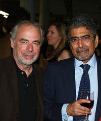 Richard Russo and publisher/editor-in-chief of Alfred A. Knopf, Ajai Singh