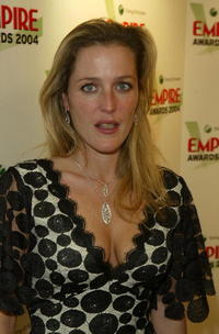 Gillian Anderson at the Sony Ericsson Empire Film Awards.