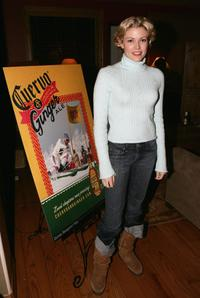 Kam Heskin at the screening pre-party of