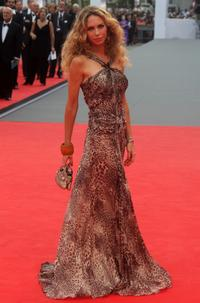 Yvonne Scio at the 64th Annual Venice Film Festival.