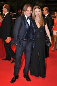 Stefano Dammicco and Yvonne Scio at the premiere of