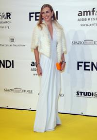Yvonne Scio at the amfAR's Inaugural Cinema Against AIDS Rome.